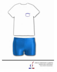 Short + T shirt ALBO filles