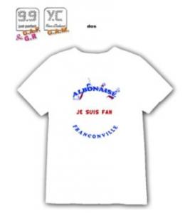 Tee shirt Fan ALBO verso
