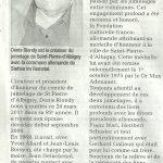 Hommage à Denis Riondy