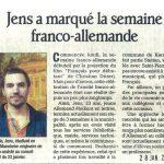 Jens Dauphiné Libéré - 28/01/12