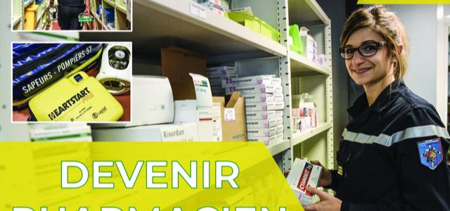 Pharmaciens et étudiants en pharmacie : si vous deveniez sapeur-pompier volontaire ?