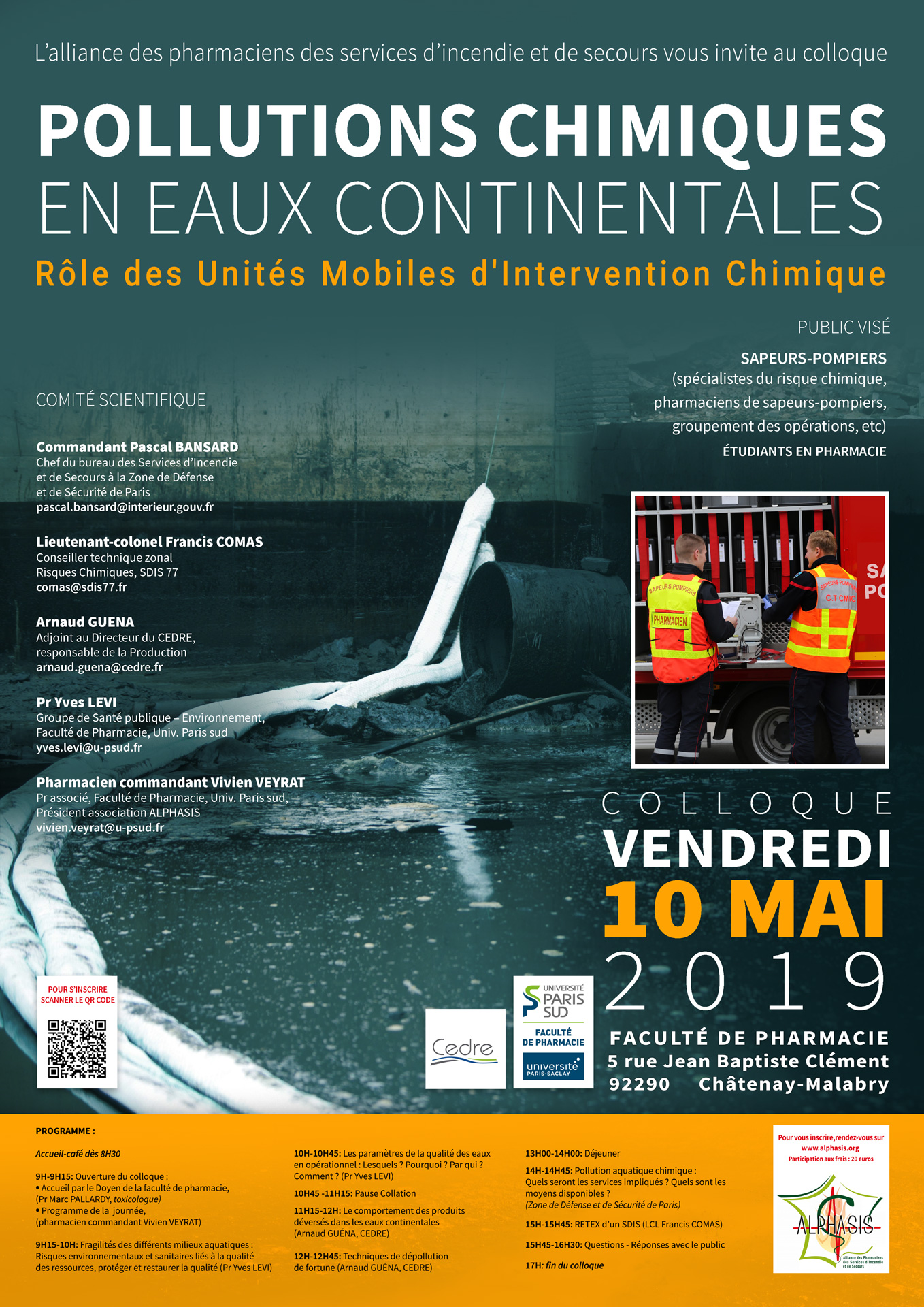 Retour sur le colloque du 10 mai 2019 : Pollutions chimiques en eaux continentales