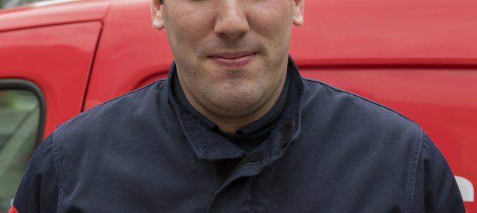 Guillaume BONNEL, pharmacien lieutenant au SDIS de Seine et Marne