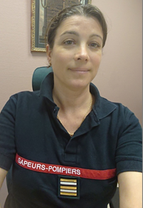 Laetitia GILARDI PROUST, PSPP au SDIS 26