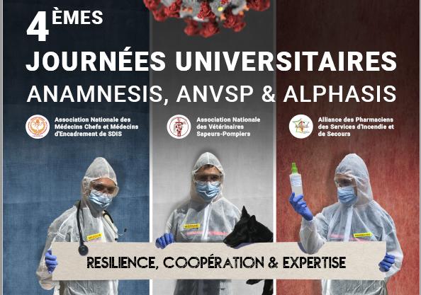 SAVE THE DATE : Journées Universitaires ALPHASIS / ANAMNESIS / ANVSP, 5 & 6 novembre 2020 à Montpellier
