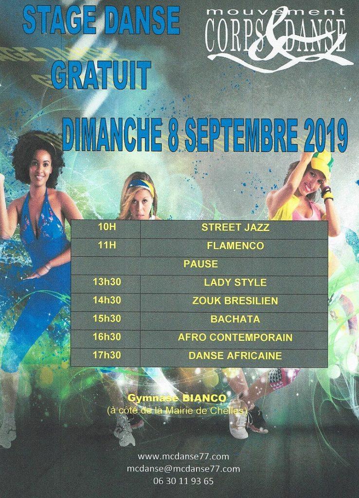 Stage Mouvement Corps et danse