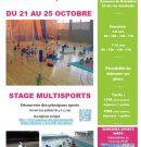 Stage Multisports des vacances de la Toussaint