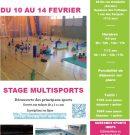 Stage Multisports de février