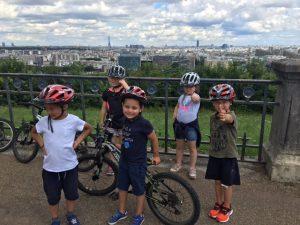 Journée tous à Vélo dans le parc de St Cloud