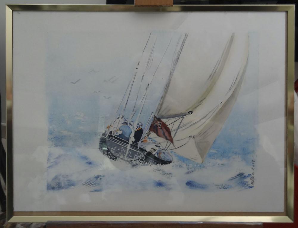 un voilier-S.Chouin