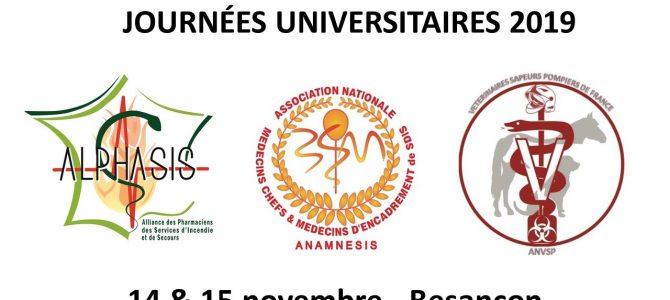 Retour sur les Journées Universitaires 2019 – BESANÇON