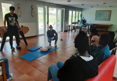 La maison de Coubron initie les jeunes aux gestes de premier secours